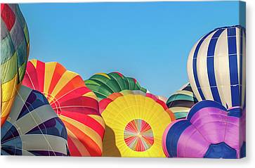Reno Balloon Races Canvas Print by Bill Gallagher