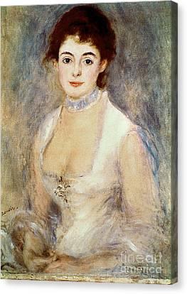 Renoir: Madame Henriot Canvas Print by Granger