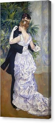 Impressionist Canvas Print - Renoir: Town Dance, 1883 by Granger