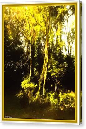 Renoir's Golden Forest Canvas Print by Debra Lynch