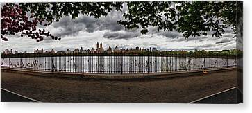 Daniel Canvas Print - Reservoir Panorama by Robert Ullmann