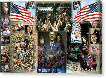 Voters Canvas Print - Respectfully Yours..... Mr. President by Terry Wallace
