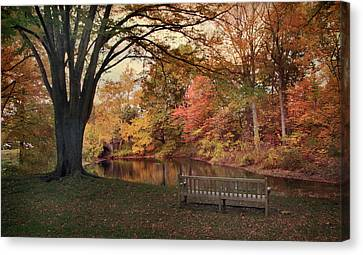 Canvas Print featuring the photograph Respite River by Jessica Jenney