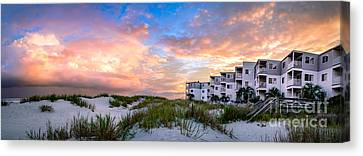 Rest And Relaxation Canvas Print by David Smith