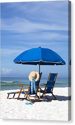 Rest And Relaxation Canvas Print by Janet Fikar