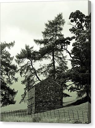Light And Dark Canvas Print - Rest House by Martin Newman