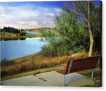Rest Stop 2 Canvas Print