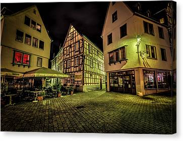 Cathedral Limburg Canvas Print - Restaurante Roseneck by David Morefield