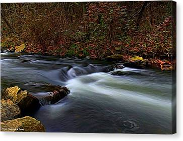 Resting By The Water Canvas Print