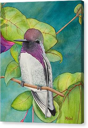 Resting Place Close Up Canvas Print
