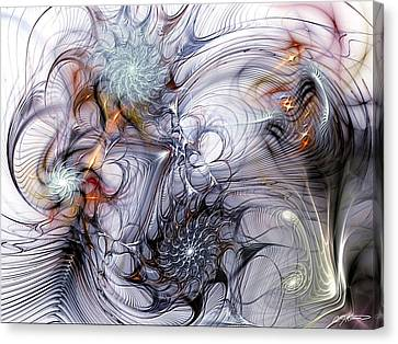 Restive Canvas Print by Casey Kotas