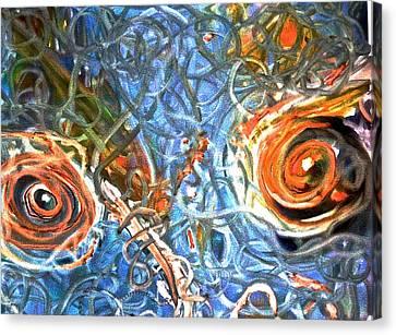 Restless Eyes Canvas Print