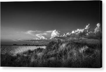 Restless Sky - Bw Canvas Print by Marvin Spates
