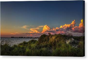 Restless Sky Canvas Print by Marvin Spates