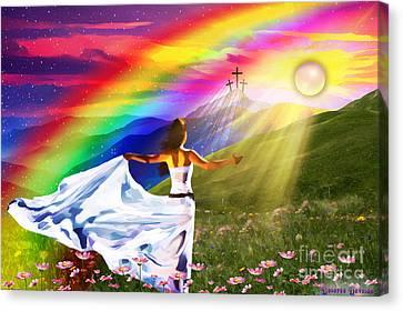 Resurrection  Canvas Print by Dolores Develde