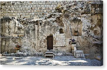 Resurrection - Garden Tomb Canvas Print by Stephen Stookey