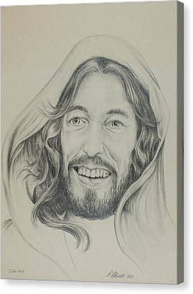 Canvas Print featuring the drawing Resurrection Joy by Rick Ahlvers