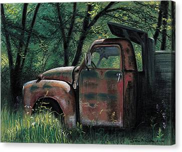 Retired Canvas Print by John Clum