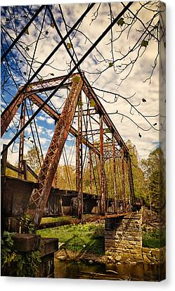 Retired Trestle Canvas Print by John M Bailey