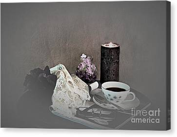 Retiring To Bed Canvas Print by Sherry Hallemeier