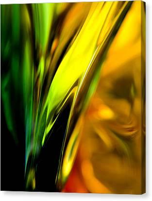 Retro Abstract Canvas Print by Theresa Tahara