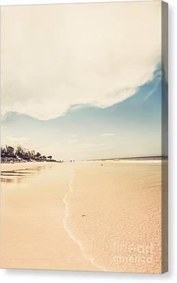 Retro Beach Landscape Taken Bribie Island  Canvas Print by Jorgo Photography - Wall Art Gallery
