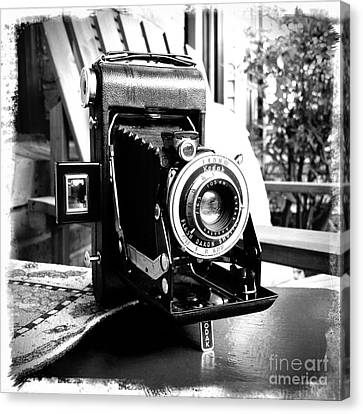 Canvas Print featuring the photograph Retro Camera by Daniel Dempster