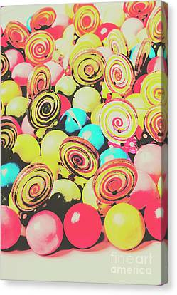 Retro Confectionery Canvas Print by Jorgo Photography - Wall Art Gallery
