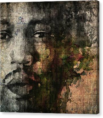 Retro Hendrix @ No6 Canvas Print by Paul Lovering