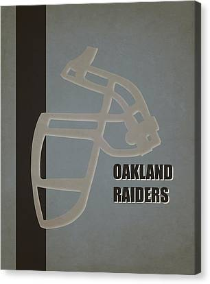 Retro Raiders Art Canvas Print by Joe Hamilton