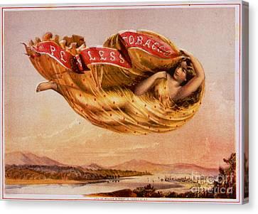 Retro Tobacco Label 1864 Canvas Print by Padre Art
