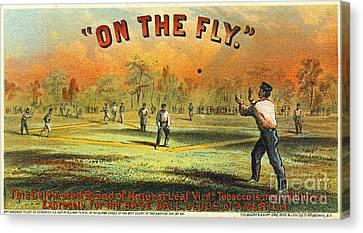 Retro Tobacco Label 1867 Canvas Print by Padre Art