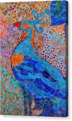 Return Of Feathery Dreams Canvas Print by Anannya Chowdhury