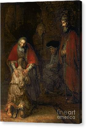 Return Of The Prodigal Son Canvas Print