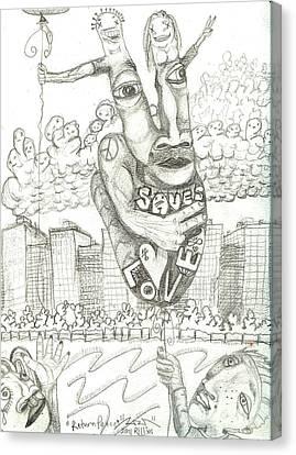Return Peace Canvas Print by Robert Wolverton Jr
