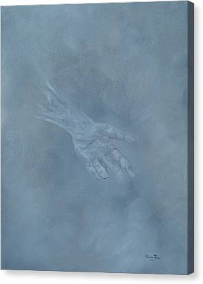 Canvas Print featuring the painting Return To Dust by Judith Rhue