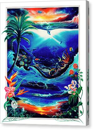 Return To Paradise Canvas Print