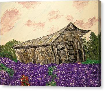 Return To Serenity Canvas Print by Ricklene Wren