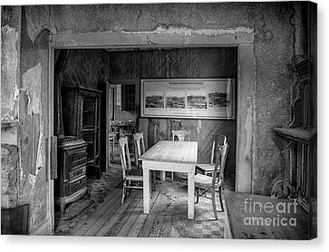 Canvas Print featuring the photograph Returning To The Past by Sandra Bronstein