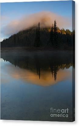 Revealed By The Sun Canvas Print by Mike Dawson