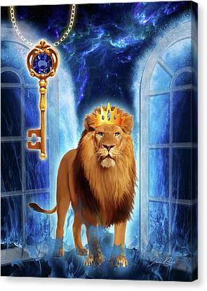 Revelation Gate Canvas Print