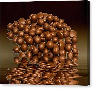 Canvas Print featuring the photograph Revels Chocolate Sweets by David French
