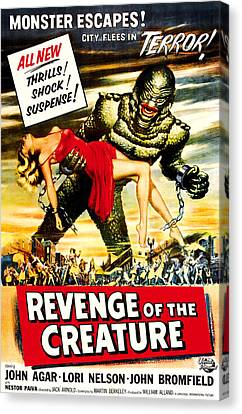 Revenge Of The Creature, 1955 Canvas Print by Everett