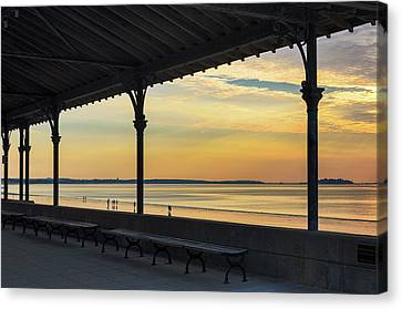 Revere Beach Sunrise Canvas Print