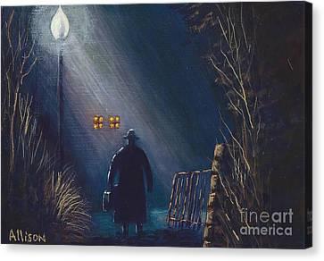 Reverend Hadley Jorgensen Canvas Print