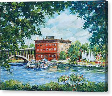 Rever's Marina Canvas Print