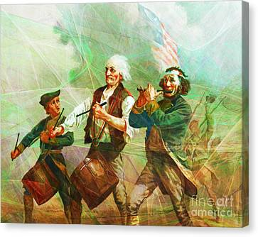 Revisiting The Spirit Of 76 20150704 Canvas Print