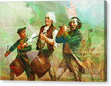 Revisiting The Spirit Of 76 20150704long Canvas Print
