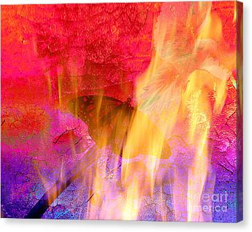 Revival Fire Canvas Print by Beverly Guilliams