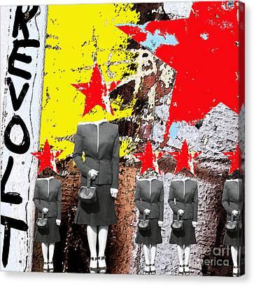 Revolt Canvas Print by Gary Everson